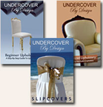 Save when you purchase all 3 Upholstery DVDs